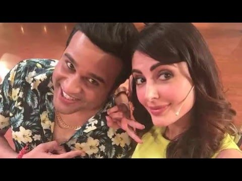 Mandana Karimi In Comedy Nights Live With Krushna