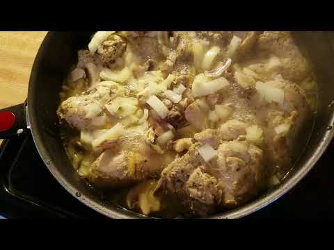 My Cream Of Chicken/Mushroom  Stove Top Chicken