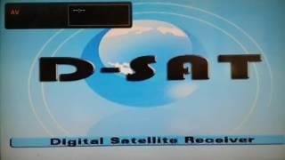 D-SAT FTA-2010 Uydu Alıcı