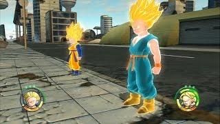 Video Dragon Ball Raging Blast 2 - Goten & Trunks vs Frieza, Cell, Buu, Broly & Hatchiyack MP3, 3GP, MP4, WEBM, AVI, FLV Juli 2018