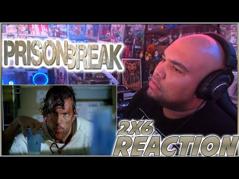 THIS IS WHEN THE SHOW IS AT ITS BEST!   Prison Break 2x6 REACTION   Season 2 Episode 6