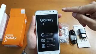 Samsung Galaxy J7 - Unboxing