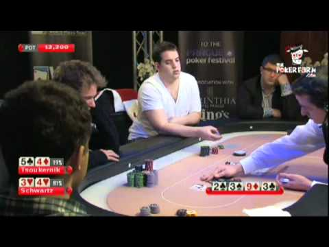 High Stakes Cash Game - Luke Schwartz v&#39;s Leon Tsoukernik 