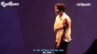 【KyuNews】Kyuhyun musical the days [Although I loved you] English Subtitle