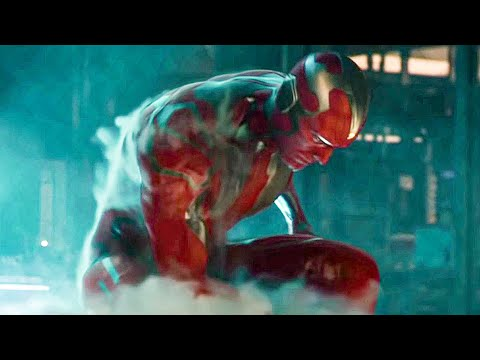 Birth of Vision Scene - AVENGERS 2: AGE OF ULTRON (2015) Movie Clip