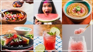 Watermelon 5 Ways l Jen Phanomrat by Tastemade