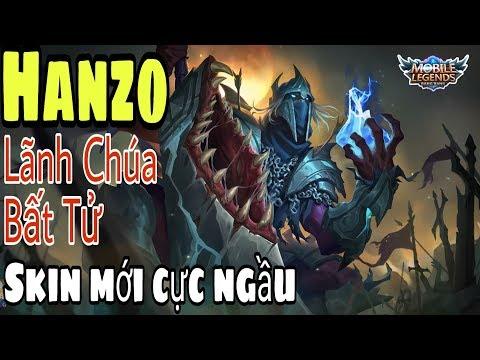 Mobile legends: HANZO - Đế Vương Bất Tử, Skin cực ngầu, vì sao lại bị bỏ rơi rank cao ? - Thời lượng: 18 phút.