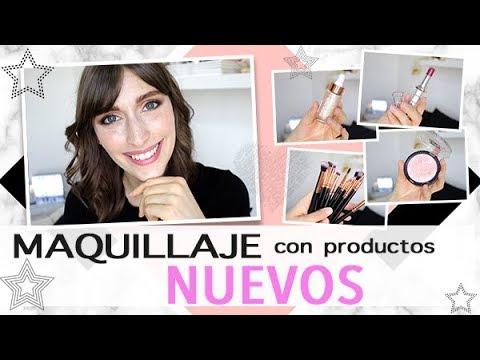 MAQUILLAJE con productos NUEVOS 💖 | Natura, Avon, Icono Y MAS | Argentina | HelloSunshineArg