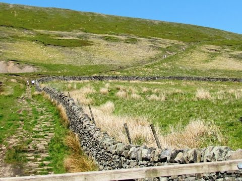 Pendle Hill from Barley to Newchurch in Pendle round | lancashire  Walks