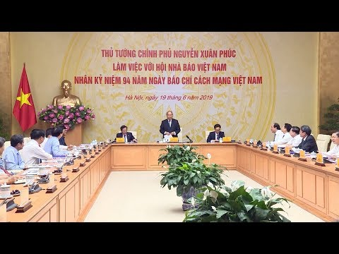 Thủ tướng gặp và làm việc với Hội Nhà báo Việt Nam