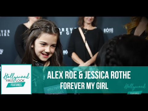FOREVER MY GIRL with ALEX ROE & JESSICA ROTHE - LA Premiere