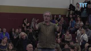 Congressman Avoids Tough Question On Refugees At Packed Town Hall
