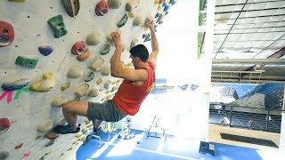 Training With Will Anglin - Episode 1 - Power Endurance by Eric Karlsson Bouldering