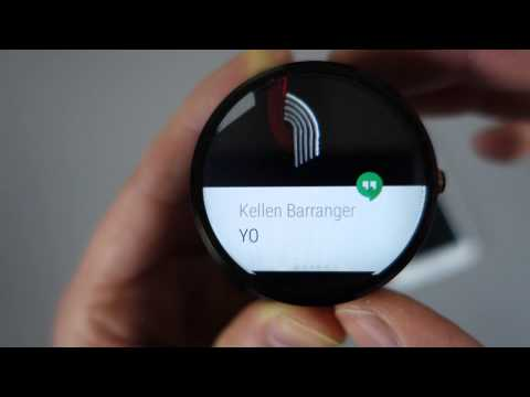 """Android Wear """"Lollipop"""" First Look and Tour!"""