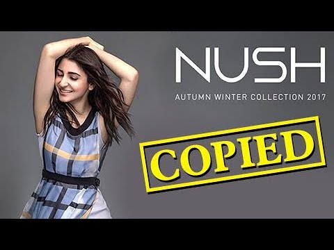 Anushka Sharma CAUGHT COPYING, Clothes Line In Tro