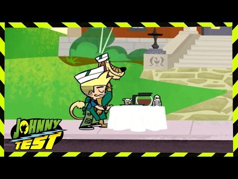 Johnny Test - Johnny's Big Snow Job // Johnny vs. Brain Freezer