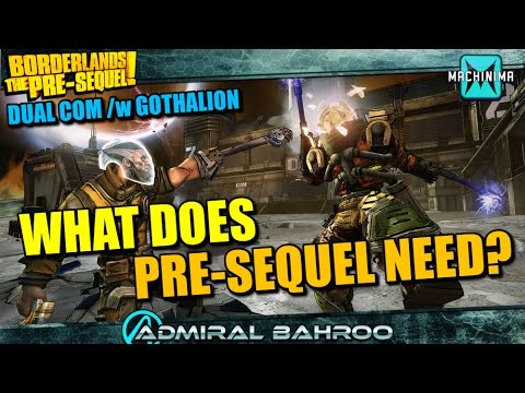 dual - Myself and Gothalion talk about Pre-Sequel, what is wrong with it and what it needs to continue moving forward. There are a few issues with the audio I apologize, my sound got messed up during...