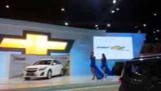 Bangkok Motor Show Chevrolet Fashion Dance