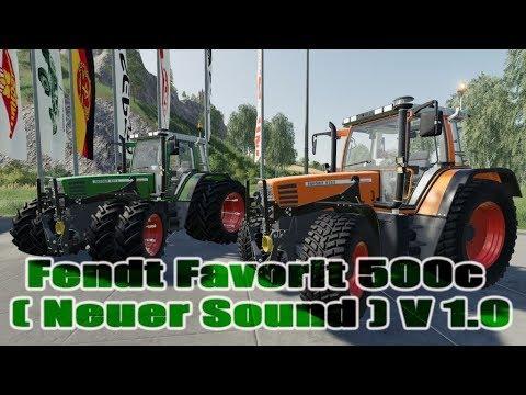 Fendt Favorit 500c (New Sound) v1.0