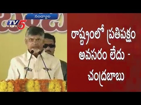 Chandrababu Slams Opposition in Nandyal Tour