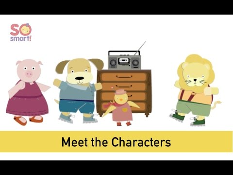 Meet the So Smart! Characters