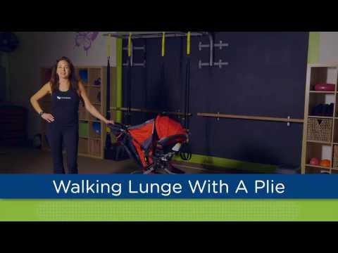 Walking Lunge with a Plié - Stroller Strides