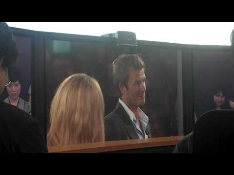 David Beckham on Telepresence