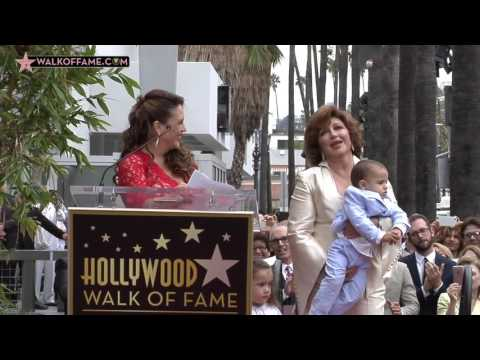 Angelica Maria Walk of Fame Ceremony