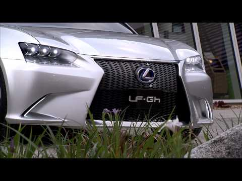 Lexus LF Gh Hybrid Concept | Behind The Scene Video