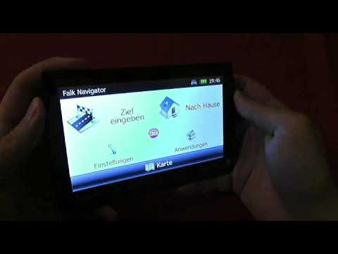 Falk NEO 620 LMU Navigationsgerät mit lebenslangen Kartenupdates | Rezension