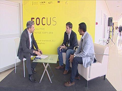 Guillermo Ruiz y Sunil Mahtani en #FocusInnovaPyme