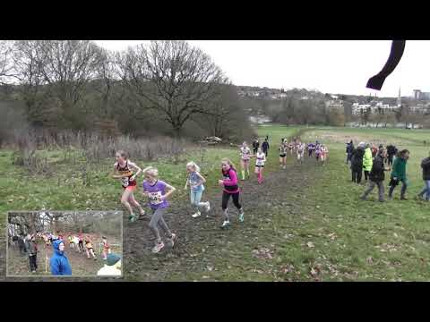 Under 13 Girls South of England Cross Country Championships 26012019