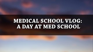 MEDICAL SCHOOL VLOG: A day at med school  Hey everyone, welcome to my next medical school vlog.  I am on my medicine rotation now.  So today I decided to take you guys with me to show you my day at med school.  Hope you enjoy my medical school vlog!  In our final year, a day at med school mostly consists of following the foundation doctors around the ward, in order to understand and appreciate the transition from medical student to doctor. Let me know if you have any questions belowRUN AFTER YOUR DESTINEY https://www.youtube.com/watch?v=VjwPgmPxGwQFOLLOW METwitter and Instagram: Medic_EneTwitter: https://twitter.com/Medic_EneSong Jeff Kaale: For love