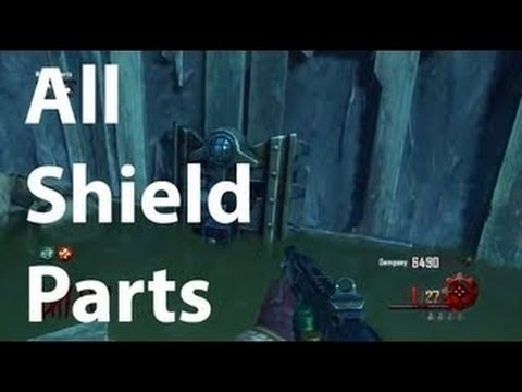 Black Ops 2 Zombies Origins How to Build the Zombie Shield – BO2 Origins Part Locations – TUTORIAL