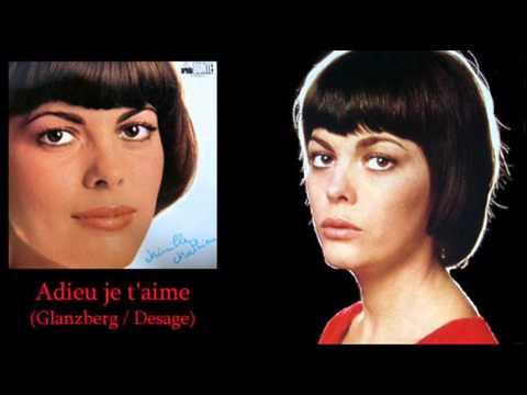 Tekst piosenki Mireille Mathieu - Adieu, je t'aime po polsku