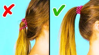 Video 20 COOL 1-MINUTE HAIRSTYLE HACKS MP3, 3GP, MP4, WEBM, AVI, FLV Juli 2018