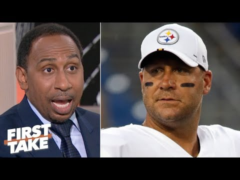 Video: The Steelers are under pressure after being smacked around by the Patriots - Stephen A. | First Take