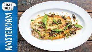 Pan fried SOLES Mediterranean style | Bart van Olphen by Bart's Fish Tales