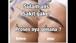Download Video sulam alis microblading mix misty powder. sakit gak ? proses nya gimana ? MP3 3GP MP4