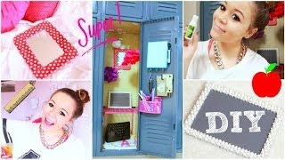 Back To School: Locker Organization + DIY Decorations! - YouTube