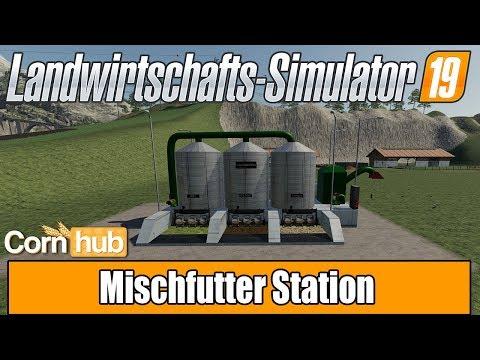 Forage Mixing Station FS19 v1.0