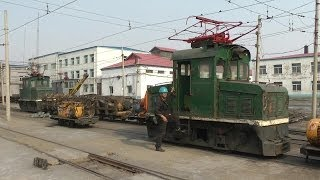 Fuxin China  City pictures : Narrow gauge mining railways in Fuxin / China