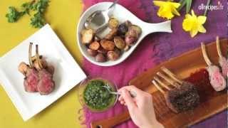 Carré d'agneau en croûte d'épices