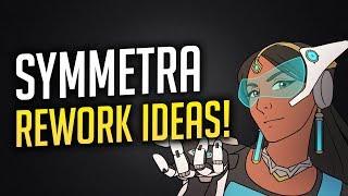 Overwatch: Symmetra Rework Ideas & TURRET CLIMBING?!