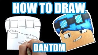 How to Draw - DanTDM (Step by Step Tutorial) Hey guys!! This is my first tutorial any support will be greatly appreciated.Let me know what about what you think below!!(If you have any suggestion for me to draw, let me know in the comment)Equipment and Art Tools- Color Pencil:                Caran d'ache - Prismalo Color Editing equipment- Sony DSC-WX50 (Amazon: http://goo.gl/P7UzH5)- Final Cut Pro X & iMovie (Mac App Store)- Manfrotto Compact Tripod (Amazon: http://goo.gl/QsZuCM)- SelfieStickMusic: - Doctor Vox - Level Up : https://youtu.be/eUX39M_0MJ8- Tobu & Jim Yosef - Miracle SoundCloud: https://soundcloud.com/7obuYoutube: https://www.youtube.com/user/tobuofficial