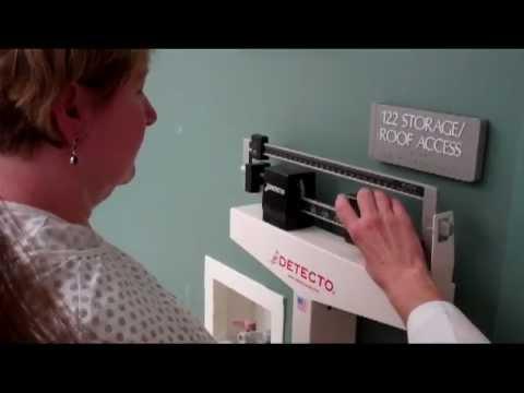 CNA Essential Skills - Weighing an Ambulatory Client