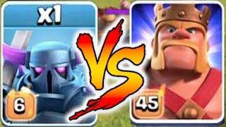 Video LVL6 PEKKA vs. MAX KING!! | Clash Of Clans | NEW LEVEL FIGHT!! MP3, 3GP, MP4, WEBM, AVI, FLV November 2017