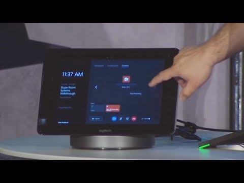 Logitech's Smart Dock is made for the Surface Pro 4 and the Skype Room