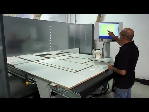 HOLZ-HER Nesting-Technology - with Lifting Table & Lableing