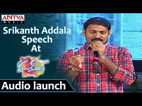 Srikanth Addala Speech At Mukunda Audio Launch Varun Tej, Pooja Hegde